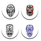 A Pack of 4 New Zealand Maori design Pattern Weights inspired TV Sewing Bee