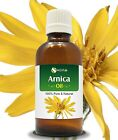ARNICA OIL 100% NATURAL PURE UNDILUTED UNCUT ESSENTIAL OIL 5ML TO 100ML
