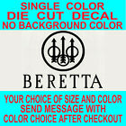 Beretta Firearms Gun Pistol Die Cut Vinyl Decal Car Truck Window Laptop Sticker