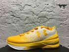 New Men's Under Armour Clutchfit Drive 3 Low Basketball Shoe Yellow 1295351-100