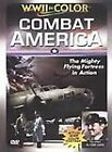COMBAT AMERICA ~Mighty Flying Fortress~WWII in Color~Clark Gable~LN DVD NICE!!!