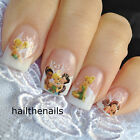 Nail WRAPS Nails Art Water Transfers Decals Fairy Princess Tinkerbell Y161