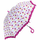 Trespass Printed Kids Umbrella With Ruffled Edges & Whistle Attached