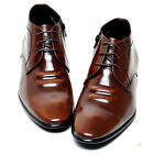 Epicsnob Mens Shoes Korea Genuine Cow Leather Dress Formal Casual Lace Up Oxford