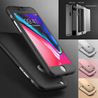 Hybrid 360° New Shockproof Case Tempered Glass Cover For Apple iPhone 8 7 6s SE