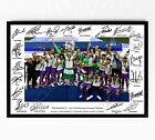 REAL MADRID SIGNED PRINT POSTER PHOTO SQUAD 2017 WALL ART TEAM RONALDO BALE