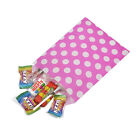 Pink Polka Dot Spot Sweet Party Wedding Popcorn Gift Paper Bags - 2 Sizes