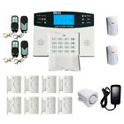 home alarm wireless - Wireless LCD GSM SMS Burglar Fire Alarm System Auto Dialer Home Security Safe