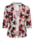 Gorgeous New Print Blazer Light Jacket Size 18 20 26 Ladies Bnwt Womens *LICK*
