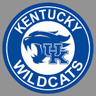 "University of Kentucky UK Wildcats Round Logo 3""/6""/9"" Vinyl Sticker NCAA"