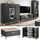 Media Entertainment Center Wall Unit TV Stand LED Modern Living Room Furniture
