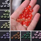 New 100/300pcs 8X4mm Rondelle Faceted Loose Spacer Acrylic Beads Jewelry Making