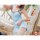Silky Chemise Nightwear Nightdress Ladies Nightie Sleepwear Short Dress UK 6/8 S
