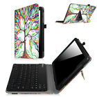 For Sprint Slate 10 inch 4G LTE 2015 Tablet Bluetooth Keyboard Case Stand Cover