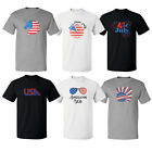July 4th Independence day Designs Tee Funny Cool Short Sleeve T Shirt