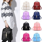 Girls Women's Fashion Leather Travel Shoulder Backpack School Bags New