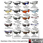 Sporting Goods - JACKSON NEMESIS SAFETY GLASSES SUNGLASSES SPORT WORK VARIETY PACKS