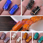Wholesale 20X10mm Cylinder Tube Spacer Loose Lampwork Glass Beads Jewelry Making
