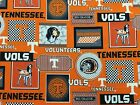 TENNESSEE VOLS COTTON FABRIC BTY 3 New Prints 2017 Sykel Enterprises