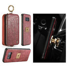 CaseMe 2in1 Zipper Real Leather Detachable Magnetic Cover For iphone 6 7 7plus
