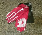 Nike Vapor Jet 3.0 Football Advanced Skill Gloves ADULT Red/White GF0485 651 MED