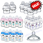 Tommee Tippee Blue Pink BABY Feeding Bottles and Teats   Newborn Accessories
