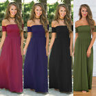 Vintage Womens Evening Cocktail Party Dress Boho Summer Beach Long Maxi Dresses