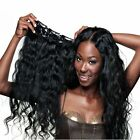 7pcs/set 120g  Body Wavy Human Hair Extensions Clip In Extensions Natural Hair