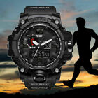 Boy Girl Children Kids LED Digital Alarm Waterproof Sports Wrist Watch for Youth image