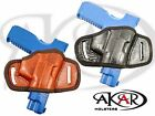 BLACK OR BROWN LEATHER QUICK DRAW BELT SLIDE OWB HOLSTER Beretta PX4 Storm Sub
