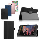 Folio Case Stand Cover For T-Mobile Alcatel A30 8-inch Tablet 9024W 2017 Leather