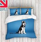 3D Digital Print Husky Blue Duvet Cover Quilt Cover Bedding Single ,Double ,King