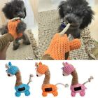 Funny Pet Puppy Chew Squeaker Squeaky Plush Sound Giraffe For Dog Playing Toys