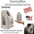 Inflatable Air Travel Pillow Neck Head Chin Cushion | Airplane Office Nap Pillow
