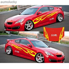 2PCS Car Styling Universal Car Graphics Decals Scratch Marks Whole Body Stickers