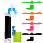 New Lot Portable Mini Electric Fan Cooling Cooler Cell Phone For Iphone Samsung