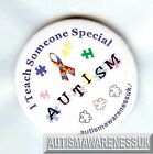 Teachers  Button Badges, I teach someone special Autism