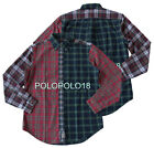 New Polo Ralph Lauren Pony Oxford Multi Plaid Fun Shirt M