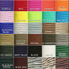550 Paracord Parachute Cord Lanyard Mil Spec Type III 7 Strand Core 30 50 100 FT