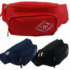 NEW Mens Ladies Plain Bum Bag 3 Colours by Two Bare Feet Travel Rave Dog Walking