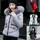 Winter Women Down cotton Hooded short Coat Down Jacket Parka Fashion 2018