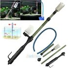 Battery-Powered Gravel Cleaner Aquarium Fish Tank Siphon Vacuum Water Change US
