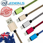 1M Strong Braided Micro USB Charger Cable For Android Samsung Galaxy S4 S6 S7