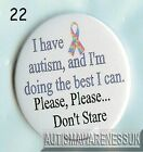 Aspergers Badges, I have Aspergers and I'm doing the best  I can