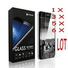 6X 9H Tempered Glass Protective Screen Protector Film for iPhone 6/7/7 Plus Lot