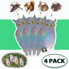 Fake Owl Bird Scare Repellent Device Large Possum Rodent Bird Pest Deterrent 4 ×