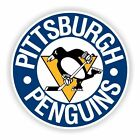 Pittsburgh Penguins (Blue) Round Decal / Sticker Die cut $3.49 USD on eBay