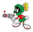 Marvin The Martian With Gun  Decal / Sticker Die Cut