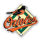 Baltimore Orioles Decal / Sticker Die cut on Ebay
