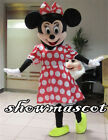 Mickey and Minnie Mouse Adult Mascot Costume Party Clothing Fancy Dress